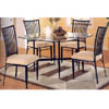 Glass Top Dining Set