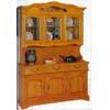Oak Buffet & Hutch 1003-60 (WD)