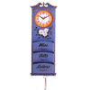 Letter Rack With Clock 1012 (PJ)