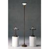 3-Pc Set Brown Finish Metal Base Lamps 1150 (CO)