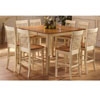 5 Pc Counter Height Dining Set 1262-54/24 (WD)