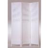 White Finish Wooden Screen 1423(ABC)