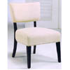 Comtemporary Armless Accent Chair 1659 (WD)