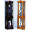 Oak Or Cherry Corner Curio Cabinet 1702 (WDFS150)