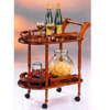 Wooden Serving Cart 2139 (PJ)