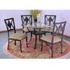 5 Pc Dining Set 2215S/2225C/CBR45 (PJ)