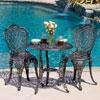 3-piece Bronze Cast Aluminum Outdoor Bistro Set 239281(OFS)