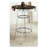 Soda Fountain Black Bar Table W/ Retro 2405 (COFS20)