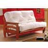 Solid Wood Futon In Honey Oak Finish 2509 (IEM)