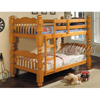 Benji II Twin/Twin Bunk Bed 2575_ (A)