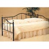 Glossy Black Daybed With Brass Accents 2721 (CO)