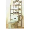 Nickel Bronze Finish Bathroom Shelf 2737 (CO)