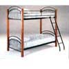 Wood/Metal Bunk Bed  4017 (ML)