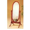 Cherry Finish Cheval Mirror 3101 (CO)