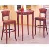 Round Bar Table And Stool 3-Pc Set 3213-Set (IEM)