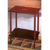 Cherry Parquet Finish Two Shelf Stand 3235 (CO)