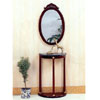 Cherry Finish Console Table With Marble Top 3312 (CO)