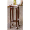 Cherry Finish Marble Top Plant Stand 3345 (CO)