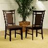 Allspice Espresso Dining Side Chair 358-434(PW)