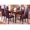 5 Pc Dark Cherry Dinette Set CM3700T-WT/3099C (IEM)