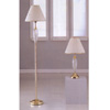 Brass And Crystal Table And Floor Lamps 3810 (A)