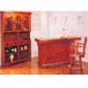 Mission Style Oak Bar Unit 3877 (CO)
