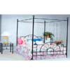 Sunburst Canopy Bed 4010 (ML)