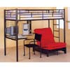 Study Center Twin Loft-Bed 2209_BLK(CO)
