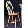Spindle Back Chair In Natural Finish 4127 (CO)