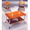 Coffee/End Table 3-Piece Set In Pine Finish 4234 (IEM)