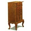 Jewelry Armoire In Dark Oak Finish 4377 (CO)
