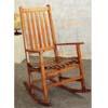 Oak Finish Porch Rocker 4511 (CO)