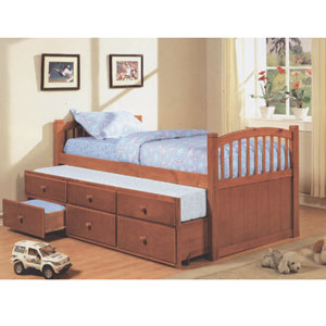 Slumbertime Solid Wood Captains Bed 4540(ML)