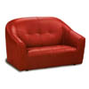 Leather Like Kid Sofa 4601_5 (CO)