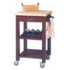 Butcher Block Top Work Island 46405_ (LN)