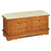Padded Pine Cedar Chest 4674 (CO)