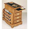 Magazine Cabinet Side Table 469H(PW)