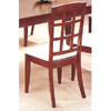 Block Back Side Chair In Cherry Finish 4747 (CO)