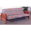 Solid Oak Deluxe Mission Style Futon Frame 4844 (CO)