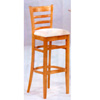 Maple Finish Bar Stool With Cushion Seat 4926 (CO)