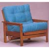 Oak Finish Wood Chair Frame 5077 (WD)