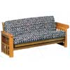 Honey Oak Finish Futon Frame 50901D (WD)