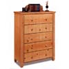 Madison Collection 5 Drawer Chest 5095 (CO)
