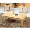 3-Pc White Wash Coffee And End Table Set 5157 (CO)
