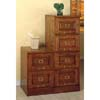 Oak Finish Cabinet with Lock 531_(CO)