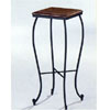 Dirty Oak Plant Stand With Black Iron Base 5422 (CO)
