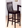 29 In.H Black Finish Bar Stool 5869 (CO)