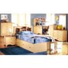 Natural Bookcase Twin Bed 5911-1 (IEM)