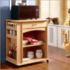Delissio! Natural Maple Microwave Cart 597 (NX)