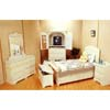 5-Piece Antique White Finish Bedroom Set 599_ (CO)